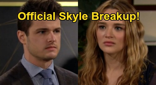 The Young and the Restless Spoilers: 'Skyle' Breakup Official - Kyle's Elaborate Reunion Plan Fails, Lola Blunder Enrages Summer