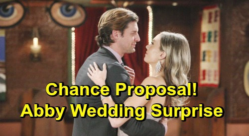 The Young and the Restless Spoilers: Abby Gets Marriage Proposal Surprise, Chance Ready for Next Step – Another Wedding in GC?