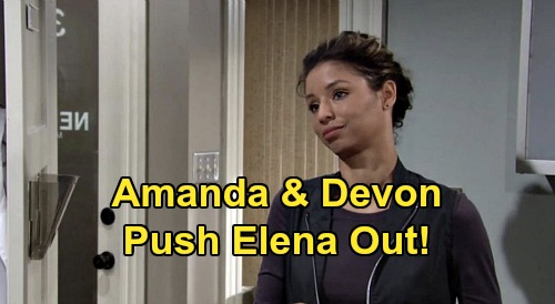 The Young and the Restless Spoilers: Amanda and Devon Are Family - New Romantic Couple Pushes Elena Out