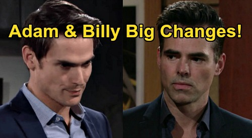 The Young and the Restless Spoilers: Billy Abbott and Adam Newman Change Course When Y&R New Episodes Resume?