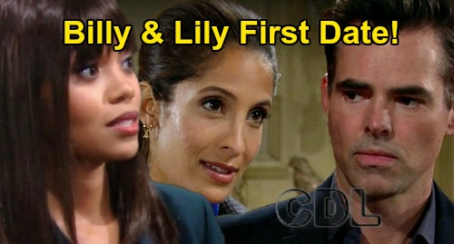 The Young and the Restless Spoilers: Billy & Lily's Cute First Date – New Y&R Filming Strategy Shapes Sizzling Summer Romance?