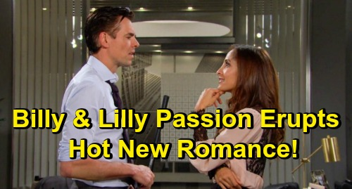 The Young and the Restless Spoilers: Billy & Lily Surrender to Temptation, Elevator Passion Erupts – Steamy New Romance Begins