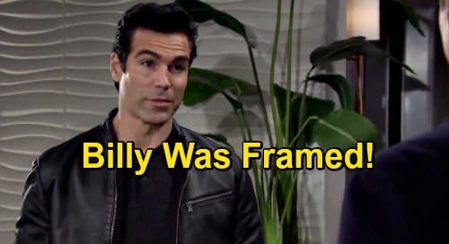 The Young and the Restless Spoilers: Billy Shooting Evidence Too Convenient - Rey Suspects Mr. Abbott Was Framed