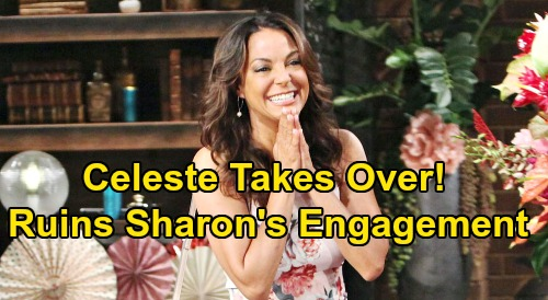 The Young and the Restless Spoilers: Celeste Takes Over 'Shey' Wedding Planning – Rey's Overbearing Mom Ruins Sharon Engagement?
