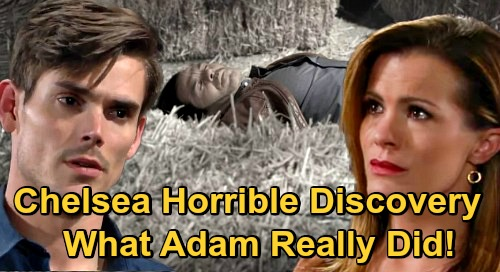 The Young and the Restless Spoilers: Chelsea's Stunning Kansas Discovery – Mission to Help Adam Takes Dark and Troubling Turn