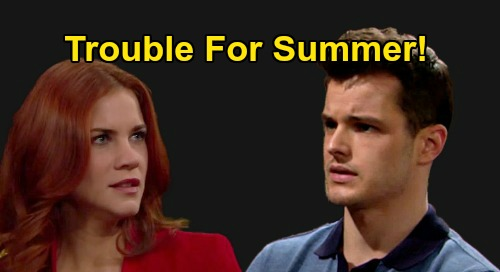 The Young and the Restless Spoilers: Courtney Hope's Character Tempts Kyle, New Rival for Summer – Hot 'Skyle' Love Triangle?
