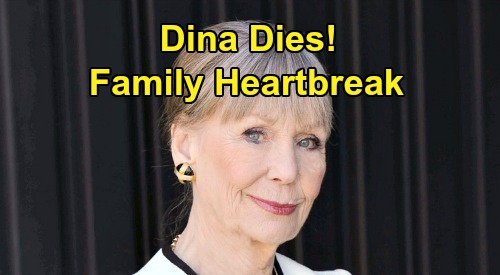 The Young and the Restless Spoilers: Dina's Death Devastates Abbotts, Family's Heartbreaking Goodbye – Final Moments Revealed
