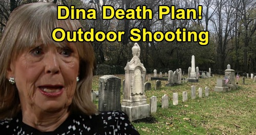 The Young and the Restless Spoilers: Dina Burial and Abbotts Graveside Grieving – Death Moves Forward With Outdoor Shooting Plan