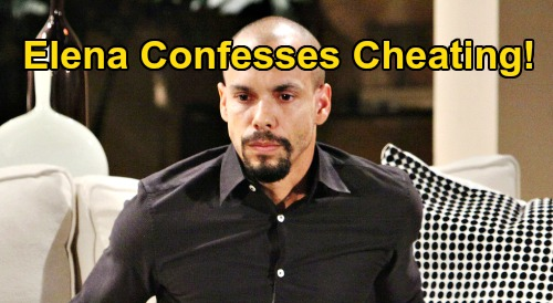 The Young and the Restless Spoilers: Elena Confesses Cheating With Nate - Devon's Gala Ends in Worst Nightmare