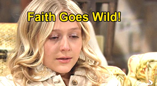 The Young and the Restless Spoilers: Faith Goes Wild, New Friend Jordan a Dangerous Influence – Teen Trouble Hits Hard