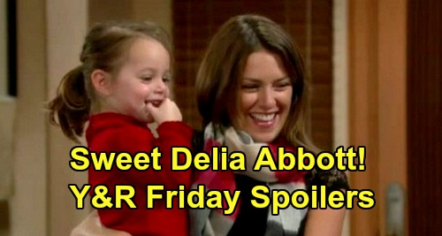 The Young and the Restless Spoilers: Friday, June 12 - Lily & Cane's Second Wedding - Chelsea Goes Into Labor - Delia's Birthday Party