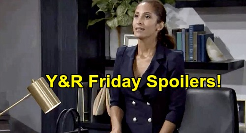 The Young and the Restless Spoilers: Friday, September 25 – Sharon's Emotional Apology – Lily Shuts Down Nikki's Spying
