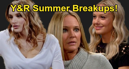 The Young and the Restless Spoilers: Genoa City's Summer Breakups – See Which Y&R Couples Won't Make It To Fall?