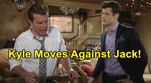 The Young and the Restless Spoilers: Having Destroyed Theo, Kyle Moves Against Jack - Victor Encourages Jabot Betrayal?