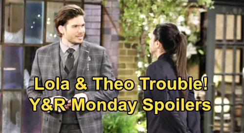 The Young and the Restless Spoilers: Monday, September 7 – Lola & Theo Trouble - Victoria's Hidden Agenda, Billy's in the Dark