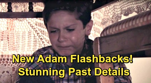 The Young and the Restless Spoilers: New Little Adam Flashbacks, Stunning Past Details – Dane West Returns for Important Scenes