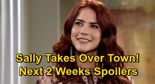 The Young and the Restless Spoilers Next 2 Weeks: Sally Takes Over Town - Theo's Greedy Lawsuit – Newman Tower Terror