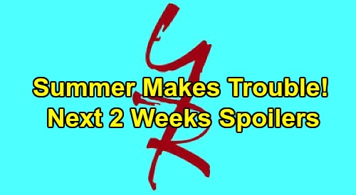 The Young and the Restless Spoilers Next 2 Weeks: Troublemaker Summer – Adam Turns to Sharon – Amanda's Shocker