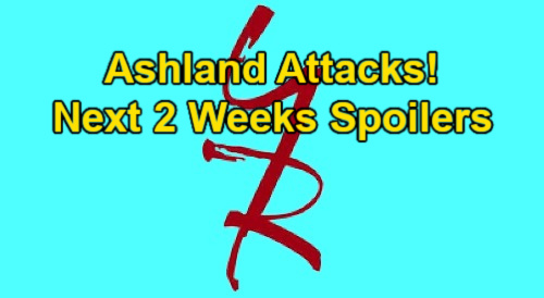 The Young and the Restless Spoilers Next 2 Weeks: Ashland Attacks Jabot – Amanda Threatened – Victor Corners Chelsea