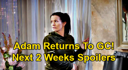 The Young and the Restless Spoilers Next 2 Weeks: Kyle's World Erupts, Harrison Paternity Exposed – Adam Returns to GC