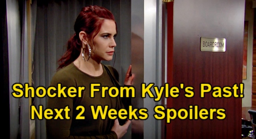 The Young and the Restless Spoilers Next 2 Weeks: Sally Weaponizes Kyle's Past – Phyllis Coaches Summer – Gloria's New Job