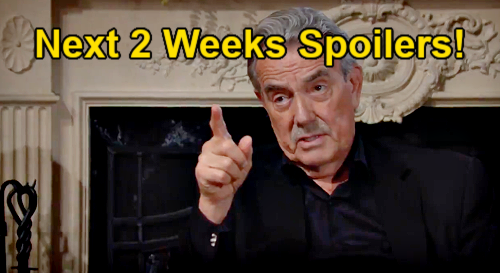 The Young and the Restless Spoilers Next 2 Weeks: Victor Traps Sutton – Mariah & Stitch Mystery – Victoria Faces Sneak Attack