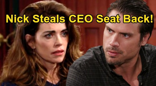 The Young and the Restless Spoilers: Nick Steals Newman CEO Seat Back, Vengeful War on Victoria – Strips Sister of Power?