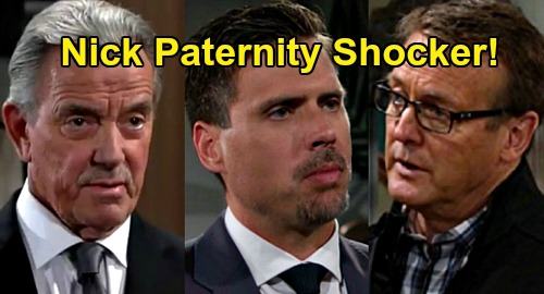 The Young and the Restless Spoilers: Nikki Tells Victor Shocking News - What If Nick Is Paul's Son?