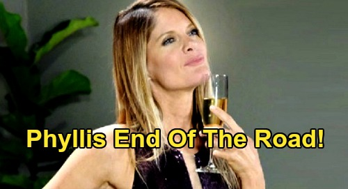The Young and the Restless Spoilers: Phyllis Reaches End Of The Road - Destroyed When Old & New Misdeeds Exposed?