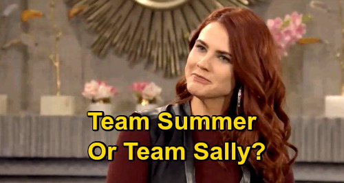 The Young and the Restless Spoilers: Prepare For Genoa City Battle - Team Summer Newman or Team Sally Spectra?