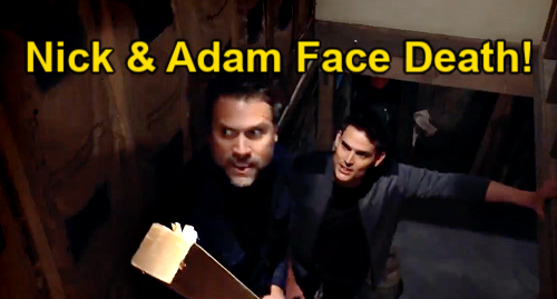 The Young and the Restless Spoilers Preview Week of May 3 Update: Nick & Adam Face Death – Tornado Shrinks Faith's Survival Odds