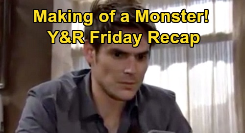 The Young and the Restless Spoilers Recap: Friday, September 18 - Adam Hears Billy & Alyssa's Sinister Plan - Victor Frankenstein