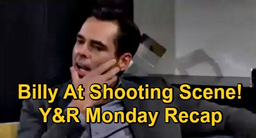 The Young and the Restless Spoilers Recap: Monday, December 7 - Billy Admits Being at Shooting Scene - Chelsea's Medical Lie