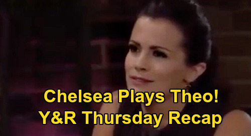 The Young and the Restless Spoilers Recap: Thursday, September 17 - Elena Protects Devon - Chelsea Uses Theo - Chance Warns Adam