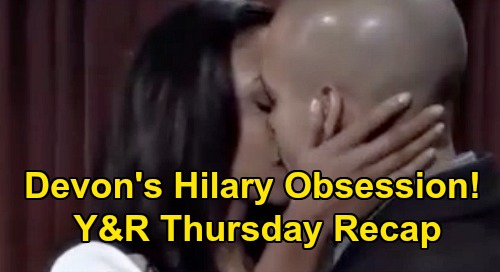 The Young and the Restless Spoilers Recap: Thursday, September 24 - Billy Hears From Alyssa - Devon Obsesses Over Hilary