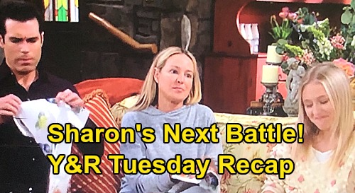The Young and the Restless Spoilers Recap: Tuesday, August 11 - Theo's Winning Pitch - Sharon Faces Chemo & Danger Post-Surgery