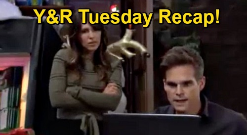 The Young and the Restless Spoilers Recap: Tuesday, December 22 - Gloria Involved in Newman Theft - Amanda Birth Mom Reveal