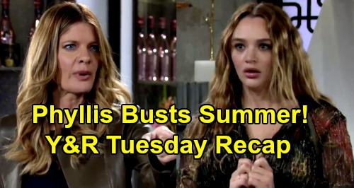 The Young and the Restless Spoilers Recap: Tuesday, September 22 - Phyllis Freaks Over Summer's Ring - Connor To Boarding School