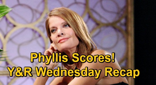 The Young and the Restless Spoilers Recap: Wednesday, January 6 - Naya Bails On Amanda - Elena & Nate Make Love - Phyllis Scores