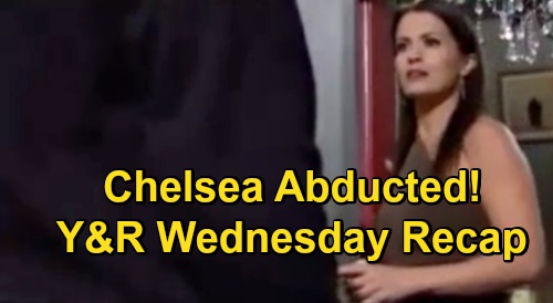 The Young and the Restless Spoilers Recap: Wednesday, November 4 - Adam Has Chelsea Abducted - Sally & Theo Reconnect - Faith Bullied