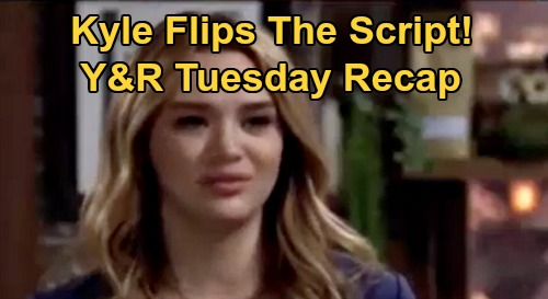 The Young and the Restless Spoilers Recap: Wednesday, October 28 - Kyle Turns Tables On Summer - Chance Gets a Badge - Amanda Unnerves Elena
