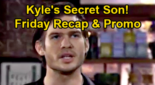 The Young and the Restless Spoilers Recap: Friday, February 5 - Theo Tells Sally Kyle Fathered Secret Son - Rey Catches Sharon & Adam