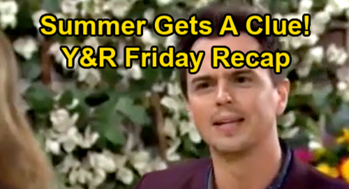 The Young and the Restless Spoilers Recap: Friday, January 15 - Summer Gets a Clue - Sally's New Job - Phyllis Takes The High Road