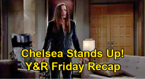 The Young and the Restless Spoilers Recap: Friday, March 5 - Chelsea Stands Up -  Lily Insults Victoria - Summer & Sally Bicker