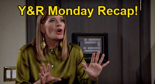 The Young and the Restless Spoilers Recap: Monday, January 11 - Kevin Defies Phyllis - Jet Emergency Landing - Faith Blasts Adam