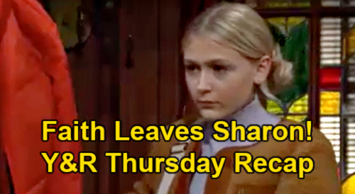 The Young and the Restless Spoilers Recap: Thursday, February 25 - Faith Moves In With Nick - Abby Says Yes To Devon