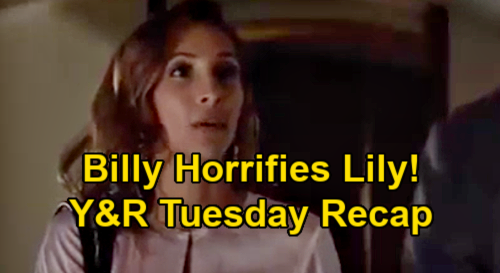 The Young and the Restless Spoilers Recap: Tuesday, January 12 - Lily Reels Over Billy & Summer - Amanda's Devastating News