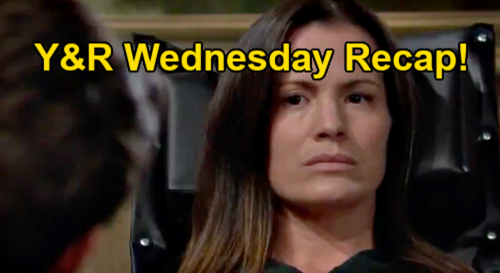The Young and the Restless Spoilers Recap: Wednesday, February 24 - Chelsea Sees Adam Kiss Photo - Rey's Indignation Tour