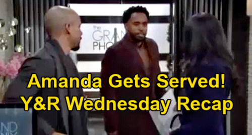 The Young and the Restless Spoilers Recap: Wednesday, January 13 - Sharon Wants Therapy For Faith - Amanda Gets Served
