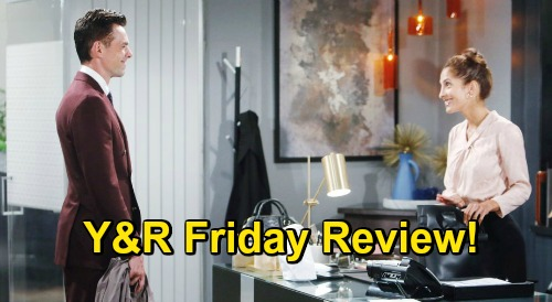 The Young and the Restless Spoilers Review: Friday, November 6 – Chelsea Plots Escape – Adam's Intervention – Jordan's Dangerous Offer